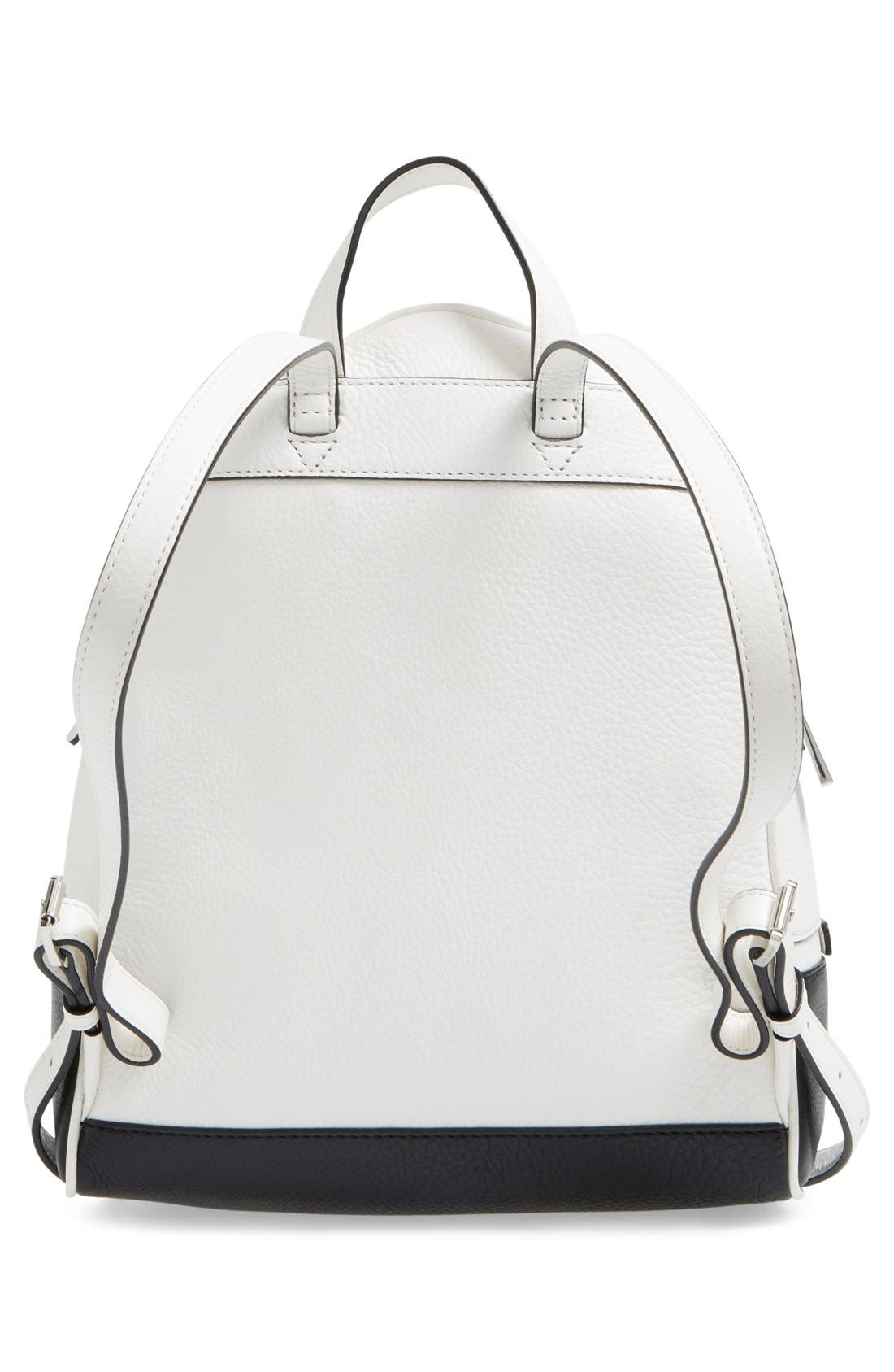 Alternate Image 3  - MICHAEL Michael Kors 'Small Rhea' Leather Backpack
