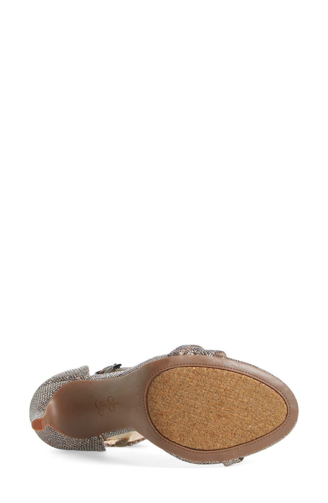 Alternate Image 7  - Jessica Simpson 'Rayli' Patent Ankle Strap Sandal (Women)