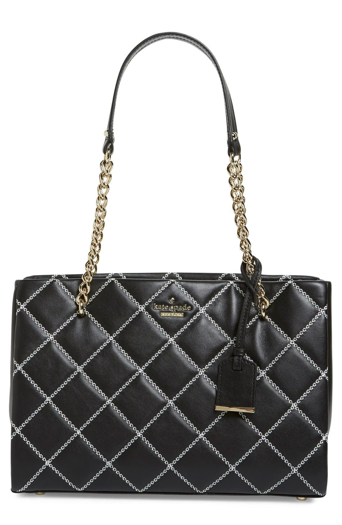 Alternate Image 1 Selected - kate spade new york 'emerson place - small phoebe' quilted leather shoulder bag