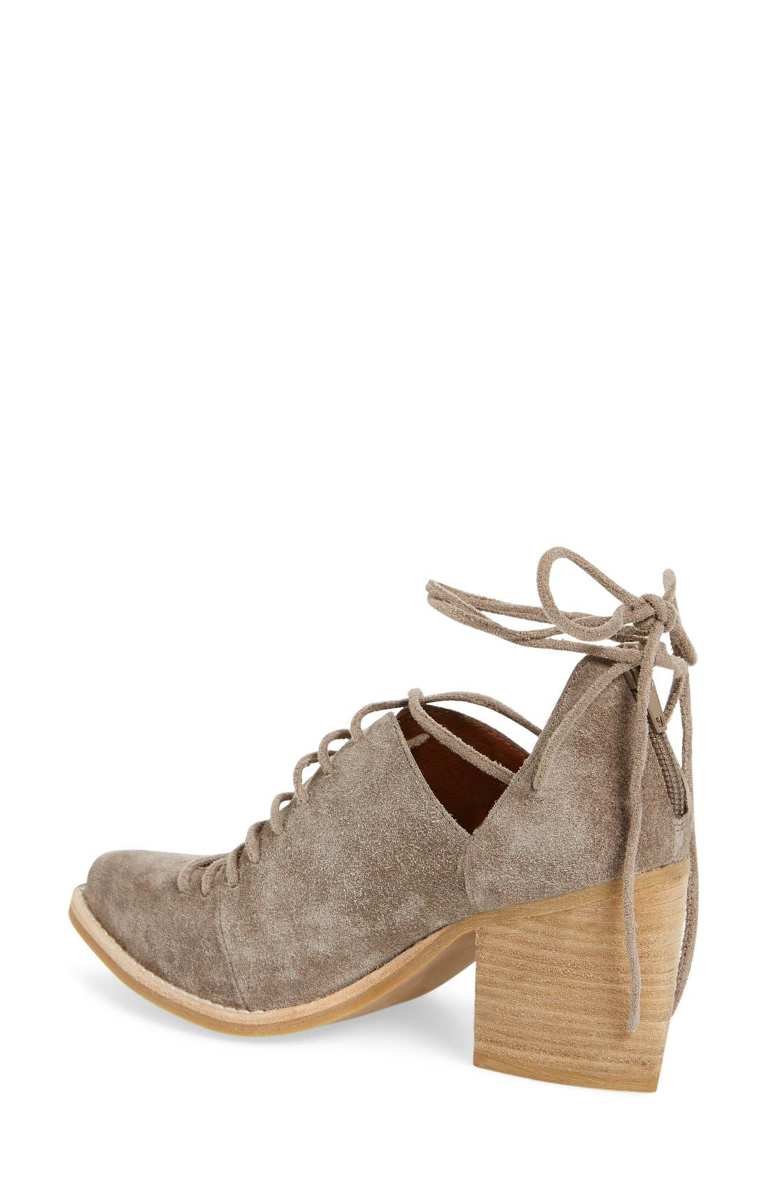 Alternate Image 2  - Jeffrey Campbell 'Amata-Tie' Lace-Up Bootie (Women)