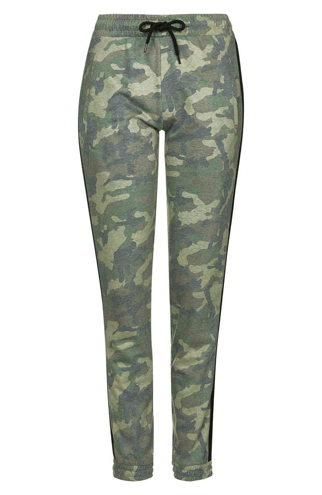 Alternate Image 4  - Topshop Camo Sweatpants