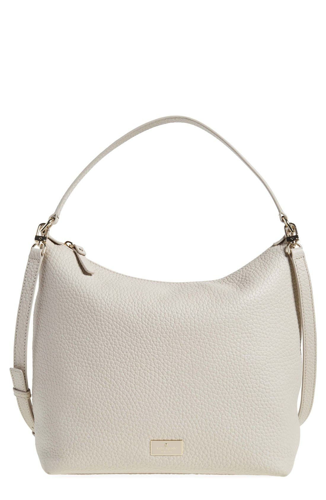 Main Image - kate spade new york 'prospect place - kaia' leather hobo