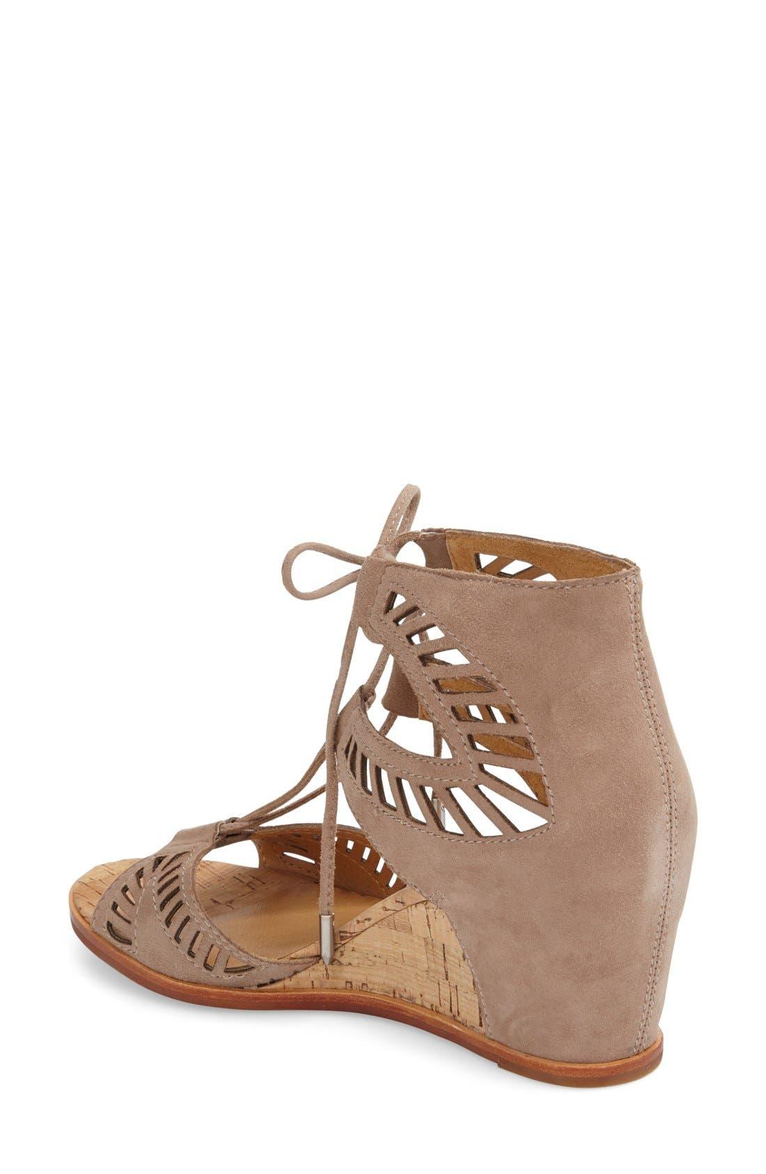 Alternate Image 2  - Dolce Vita 'Linsey' Lace-Up Wedge Sandal (Women)