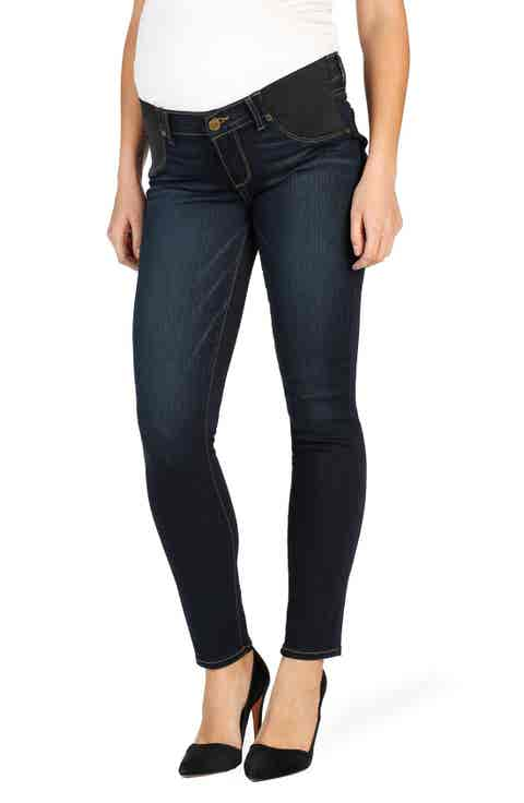 PAIGE Transcend - Verdugo Ultra Skinny Maternity Jeans (Armstrong)