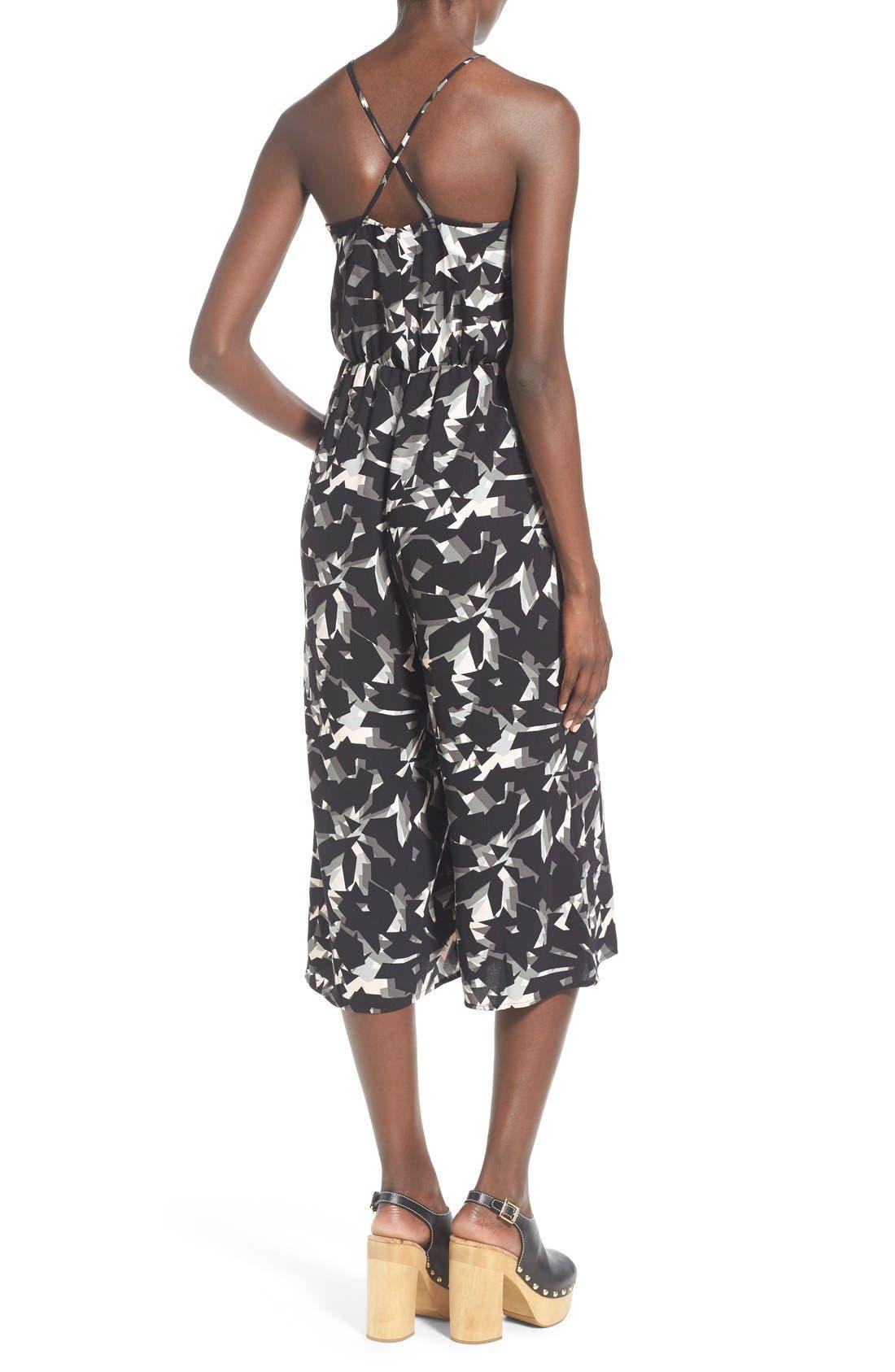 Alternate Image 2  - Leith Wrap Front Culotte Jumpsuit