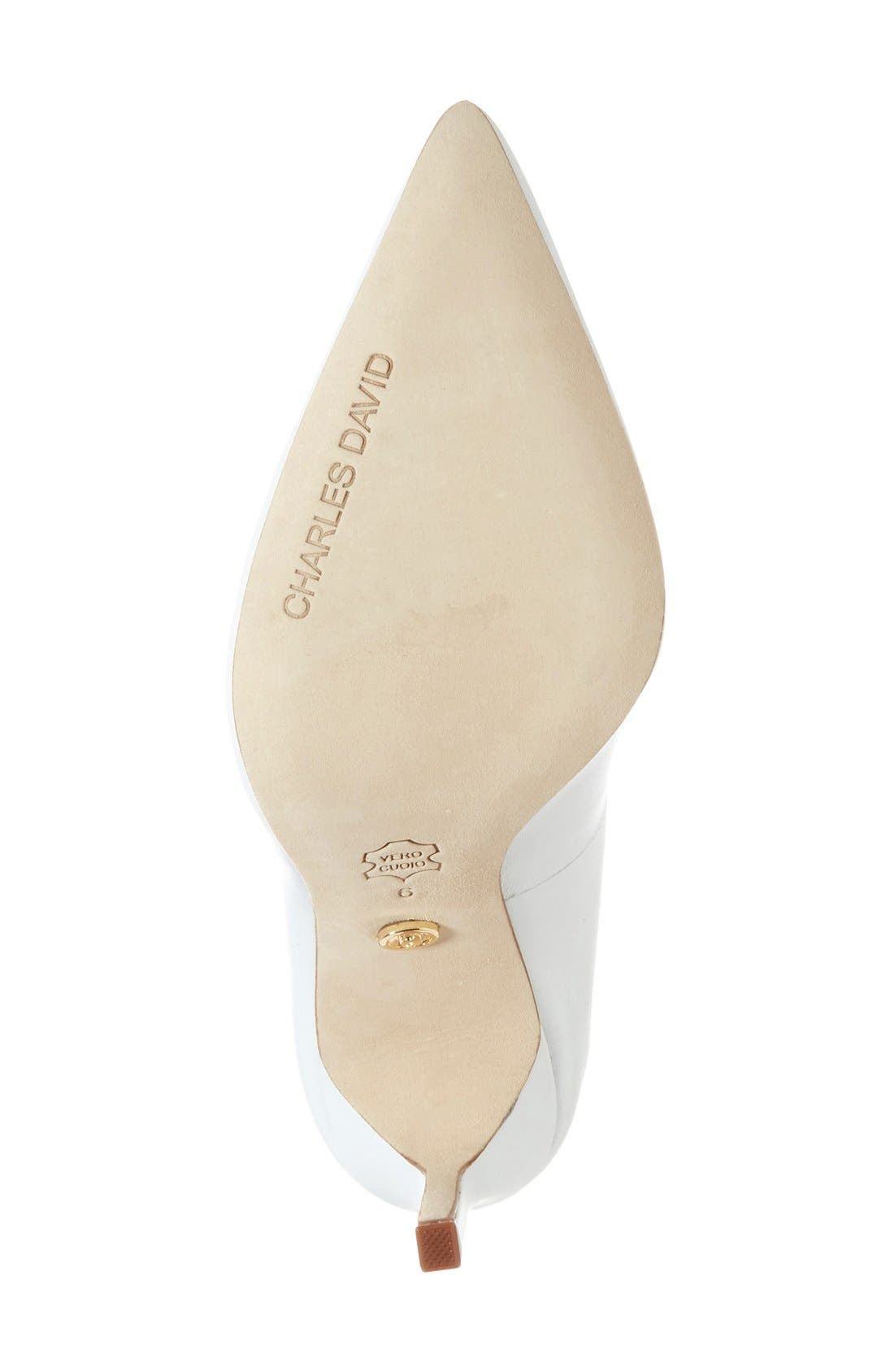 Alternate Image 4  - Charles David 'Caterina' Pointy Toe Pump (Women) (Online Only)