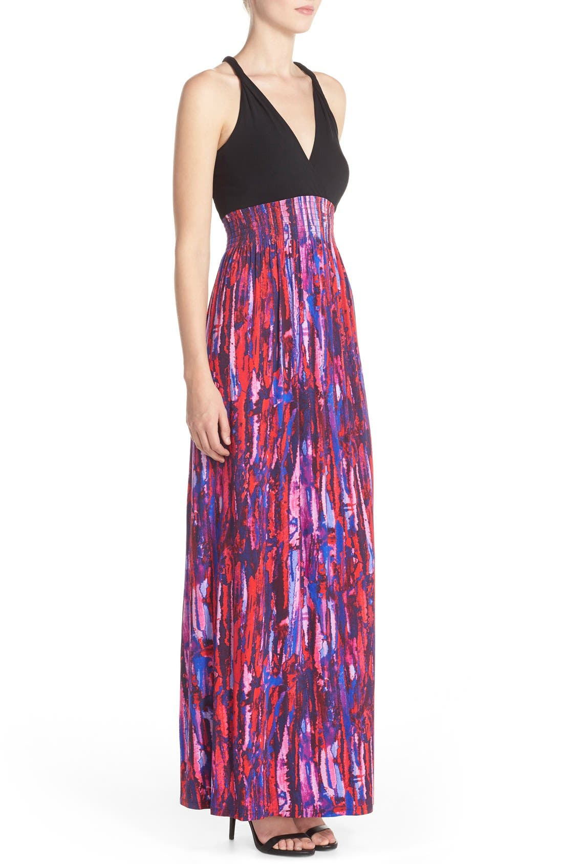 Alternate Image 3  - Felicity & Coco Printed Maxi Dress (Regular & Petite) (Nordstrom Exclusive)