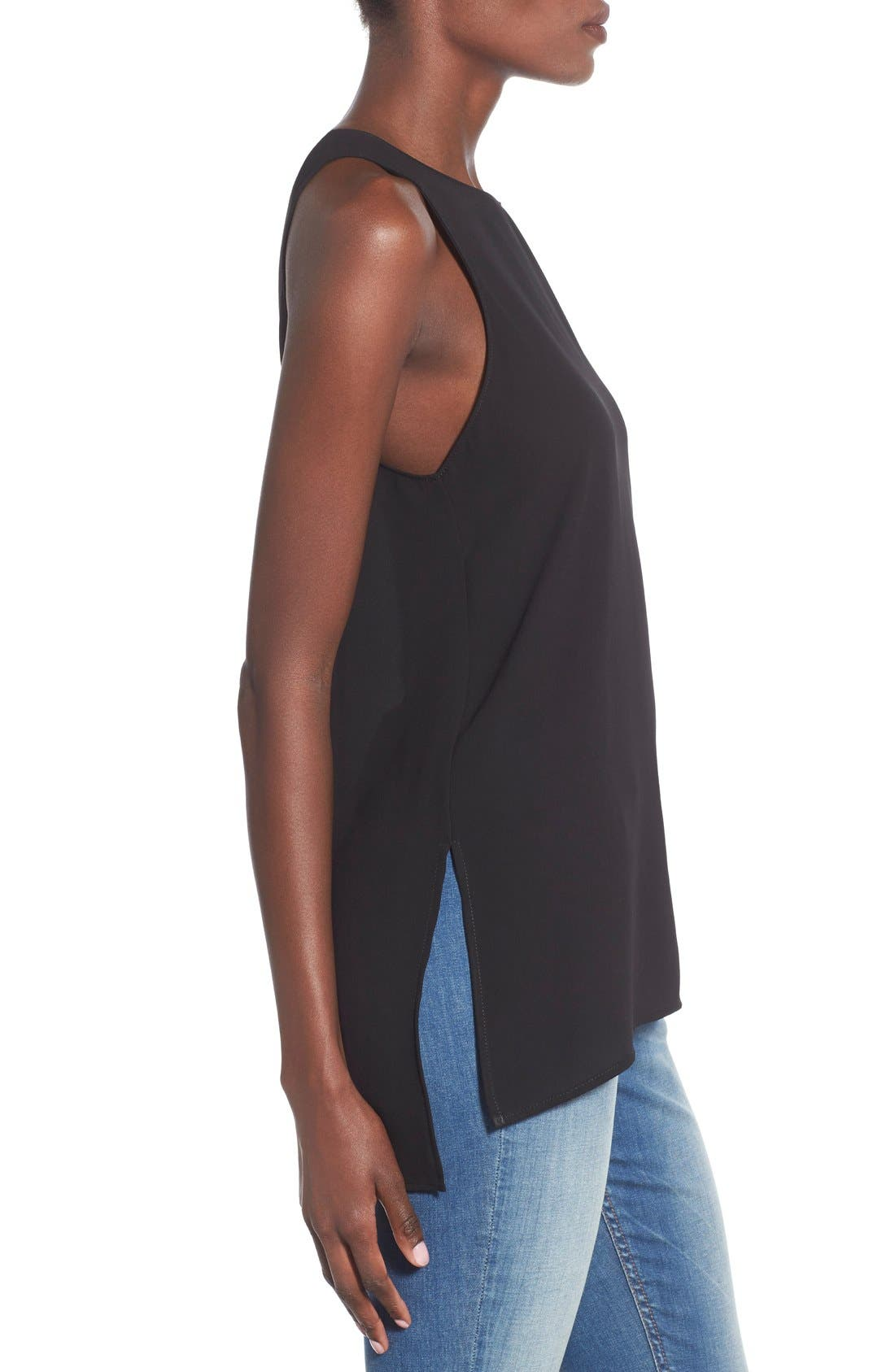 Alternate Image 3  - Lush Side Slit Tank