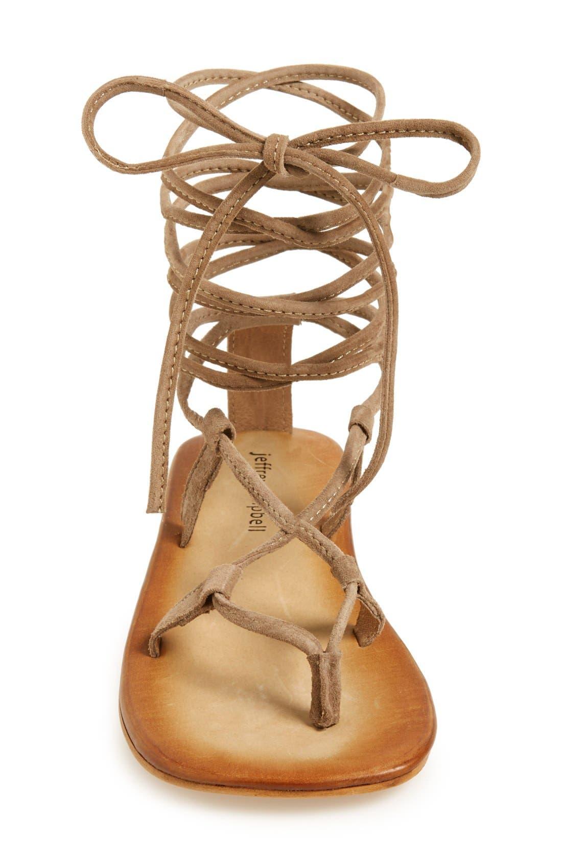 Alternate Image 3  - Jeffrey Campbell 'Lima' Wraparound Strap Sandal (Women)