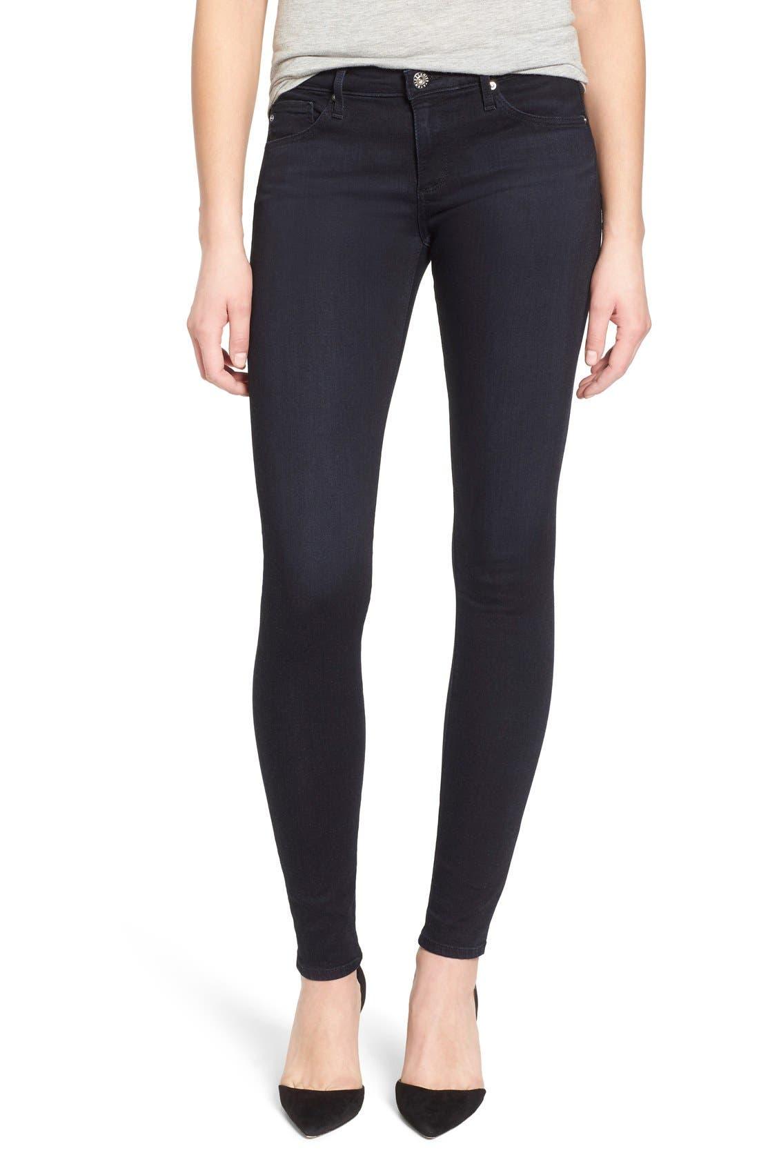 Alternate Image 1 Selected - AG 'The Legging' Super Skinny Jeans (Shade)