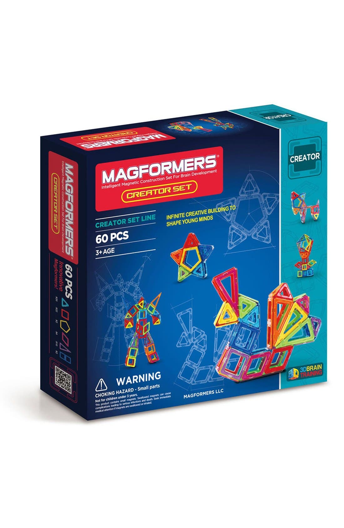 MAGFORMERS 'Creator' Magnetic 3D Construction Set