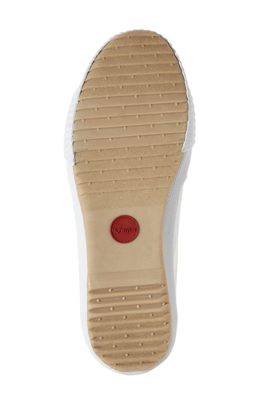 Alternate Image 4  - Feiyue. 'Fe Lo Plain' Canvas Sneaker (Women)