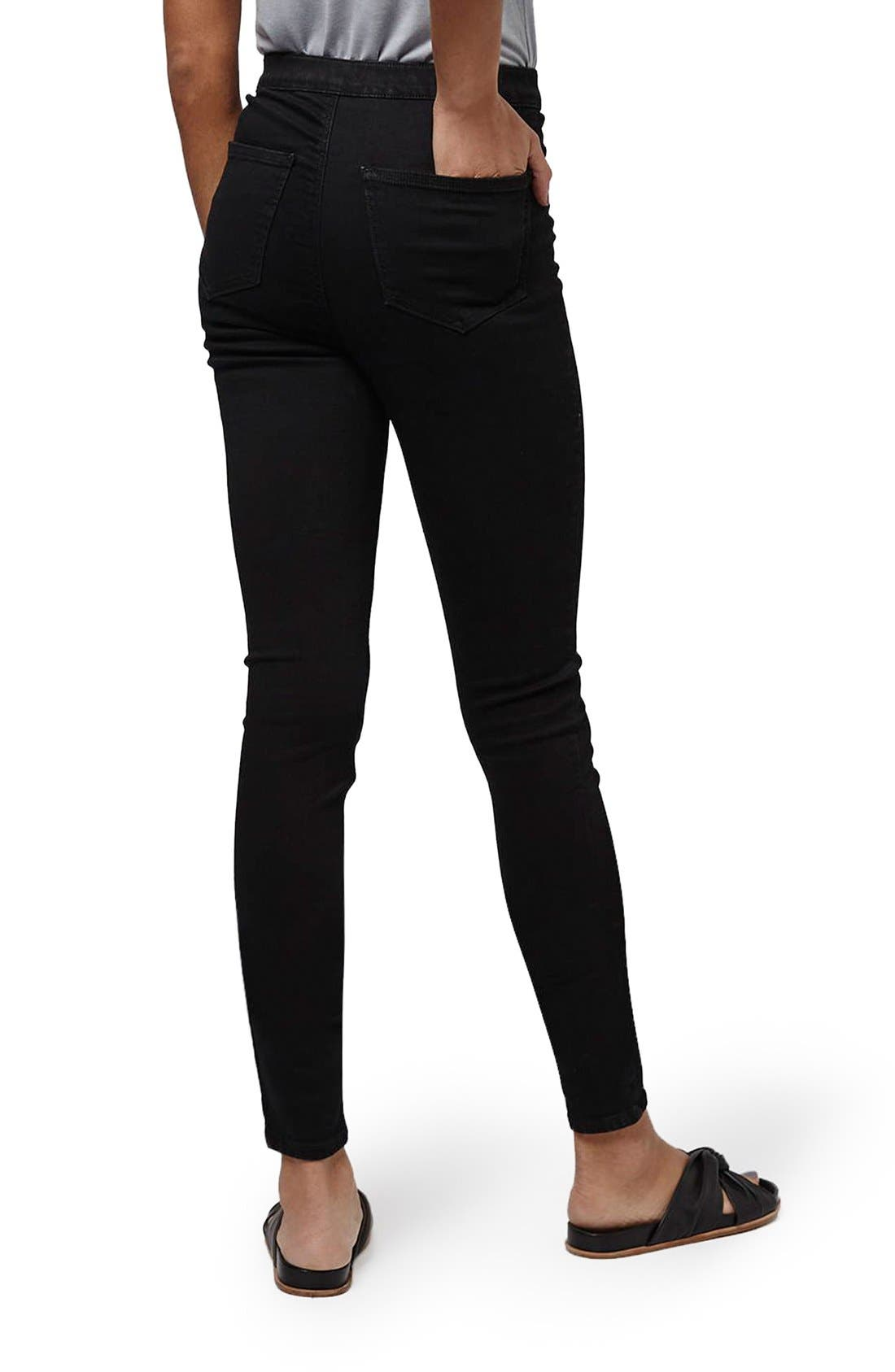 Alternate Image 3  - Topshop 'Joni - Holding Power' High Waist Skinny Jeans (Tall)
