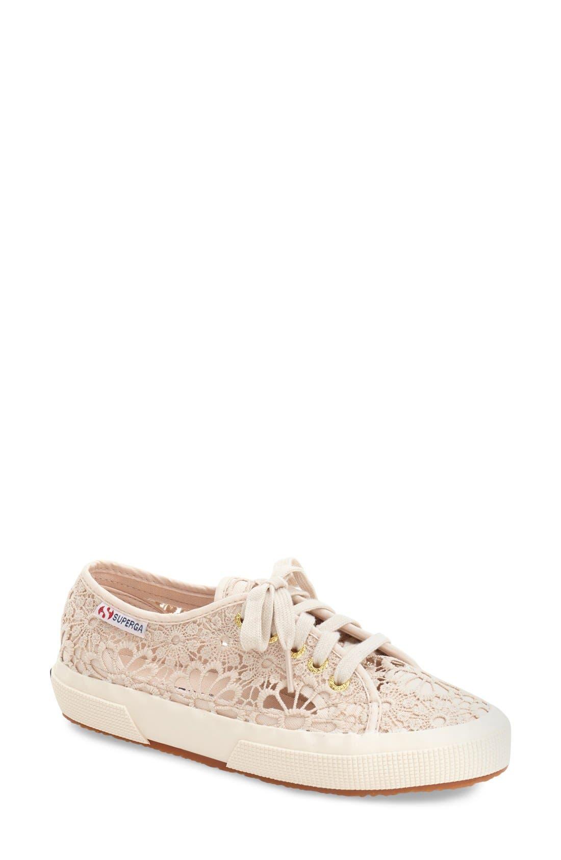 Superga 'Cot' Macramé Sneaker (Women)