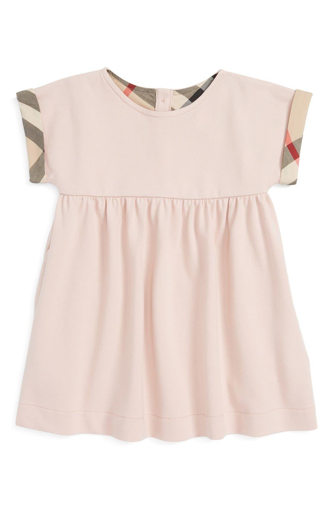 Burberry Jen Piqué Dress Baby Girls