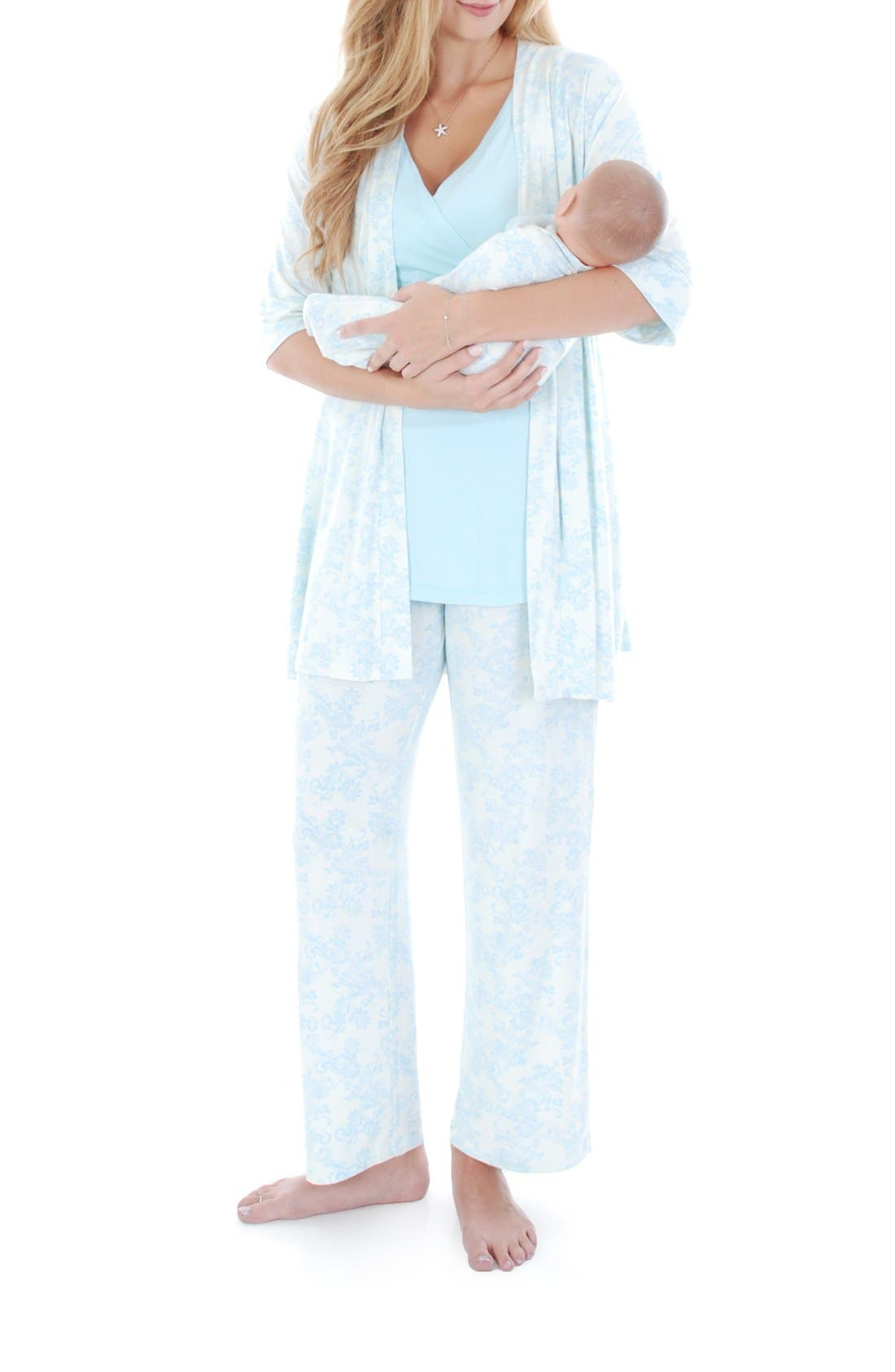 Everly Grey Roxanne - During & After 5-Piece Maternity Sleepwear Set