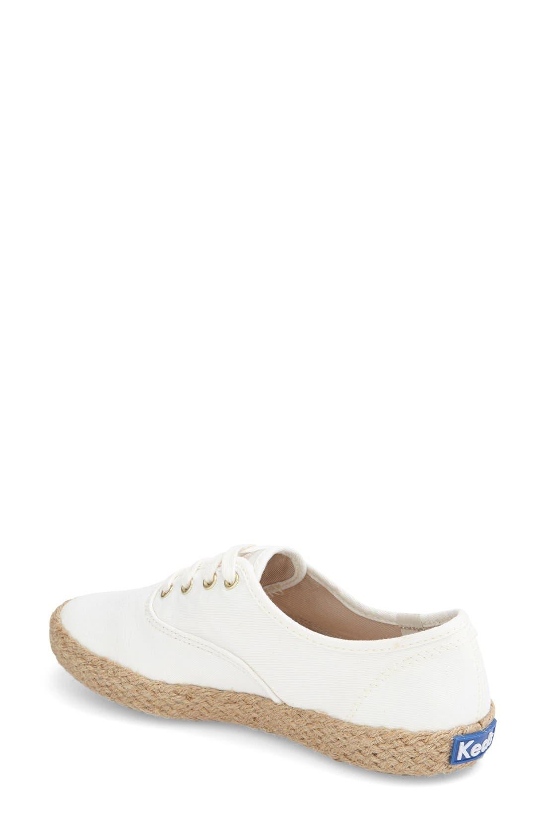 Alternate Image 2  - Keds® 'Champion - Jute' Sneaker (Women)