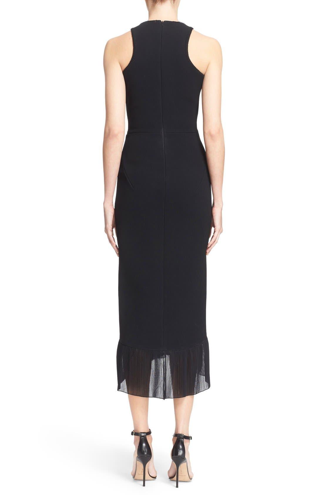 Alternate Image 2  - Victoria Beckham Crepe Sheath Dress
