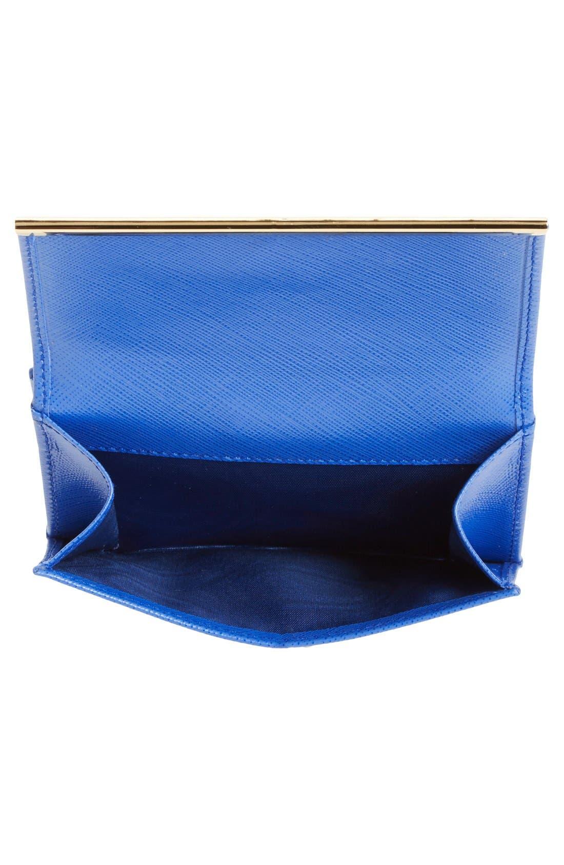 Alternate Image 2  - Salvatore Ferragamo Saffiano Calfskin Leather Wallet