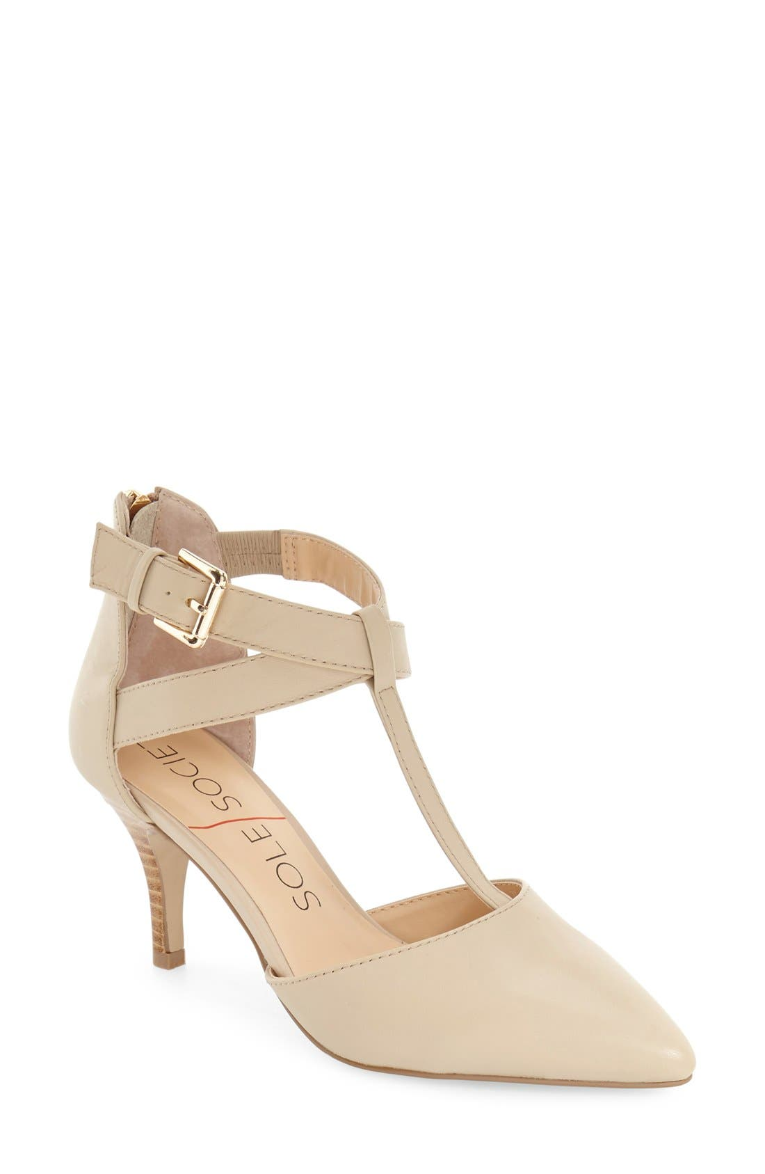 Alternate Image 1 Selected - Sole Society 'Avalon' T-Strap Pump (Women)