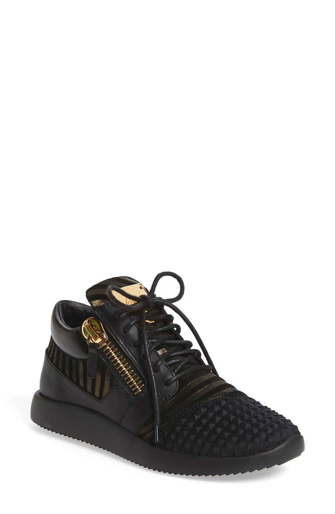 Giuseppe Zanotti Side Zip Sneaker (Women)