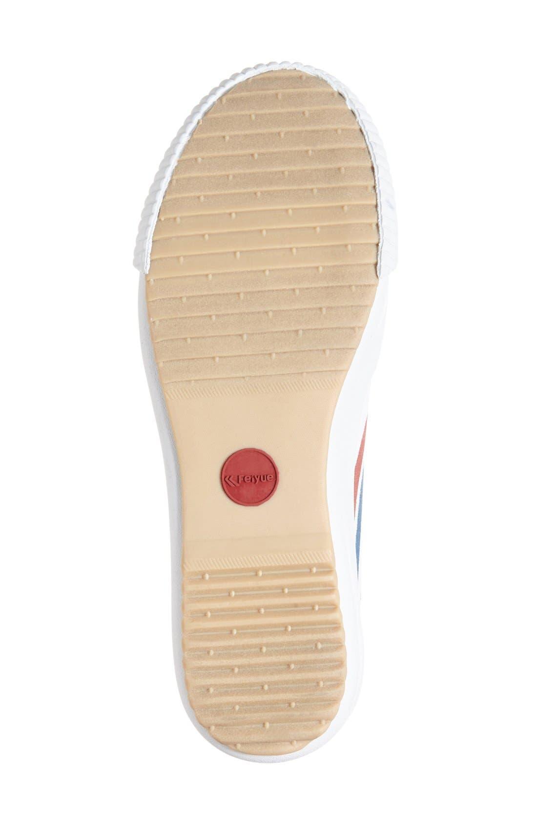 Alternate Image 4  - Feiyue. 'Fe Lo Platform' Canvas Sneaker (Women)
