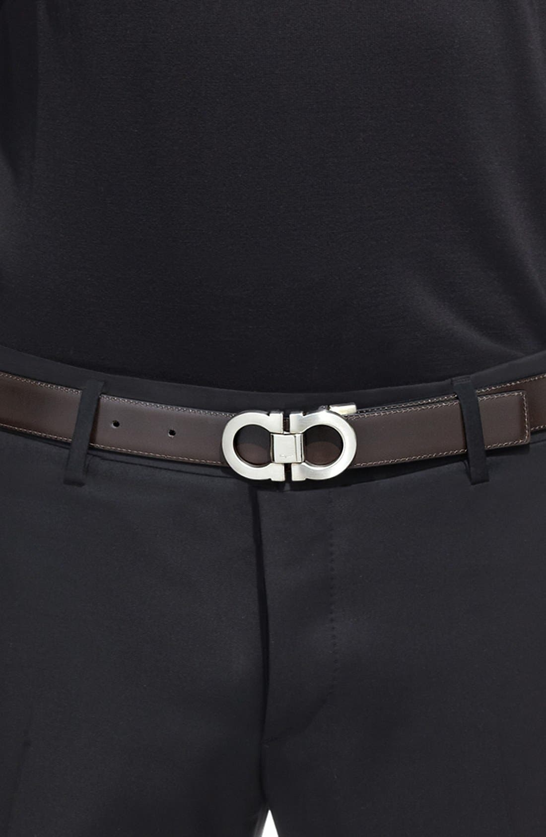 Alternate Image 11  - Salvatore Ferragamo Double Gancio Reversible Leather Belt
