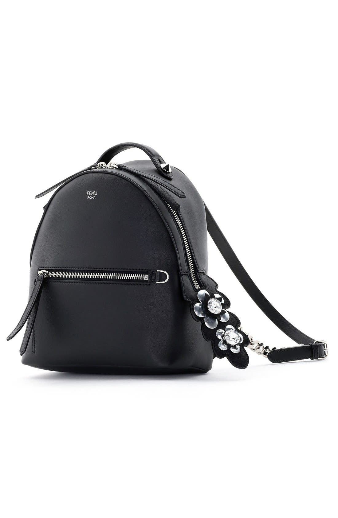 Alternate Image 2  - Fendi Mini Crystal Embellished Croc Tail Backpack
