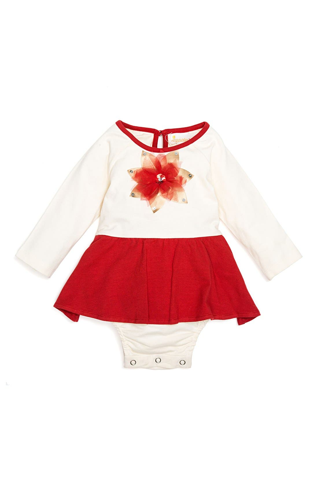 MASALABABY 'Bloom' Skirted Bodysuit