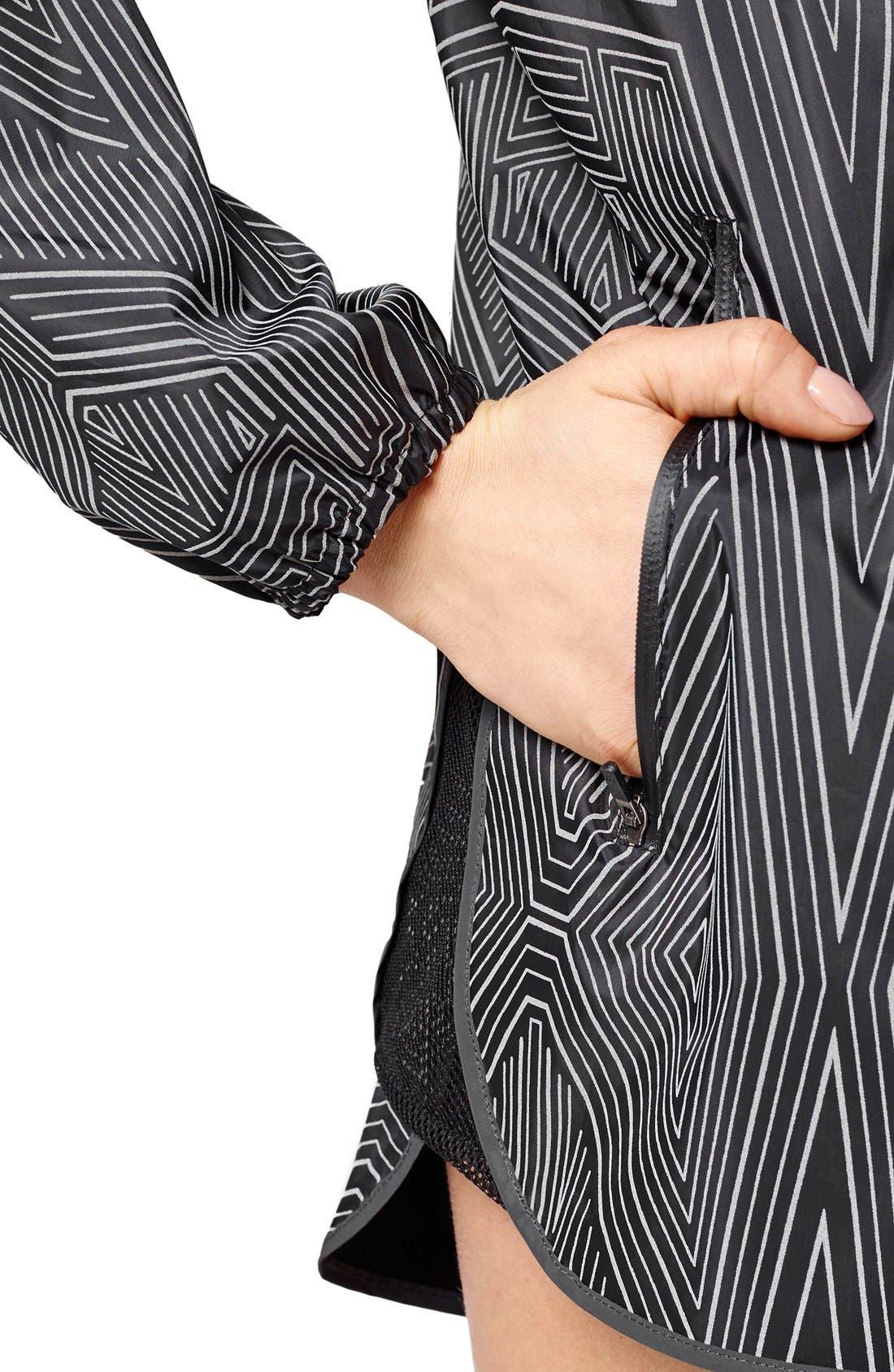 Alternate Image 4  - IVY PARK® Reflective Linear Print Long Sleeve Jacket