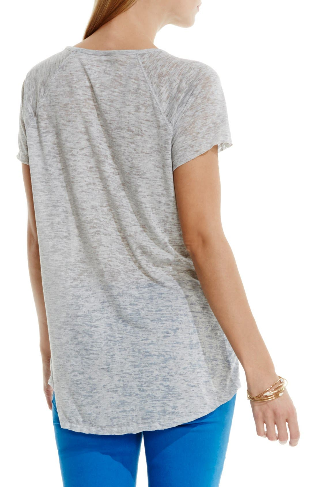 Alternate Image 3  - Two by Vince Camuto 'In Flight' Burnout Tee