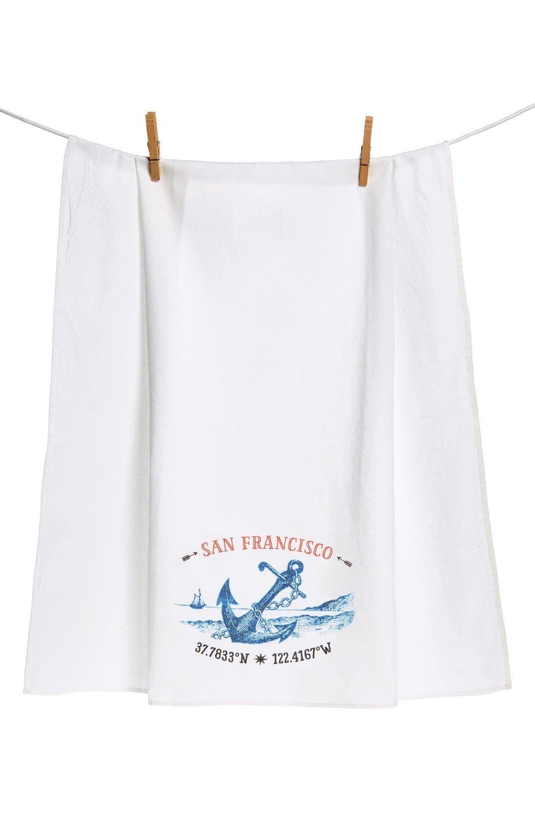 CAMEOS & CROWNS 'City' Flour Sack Towel