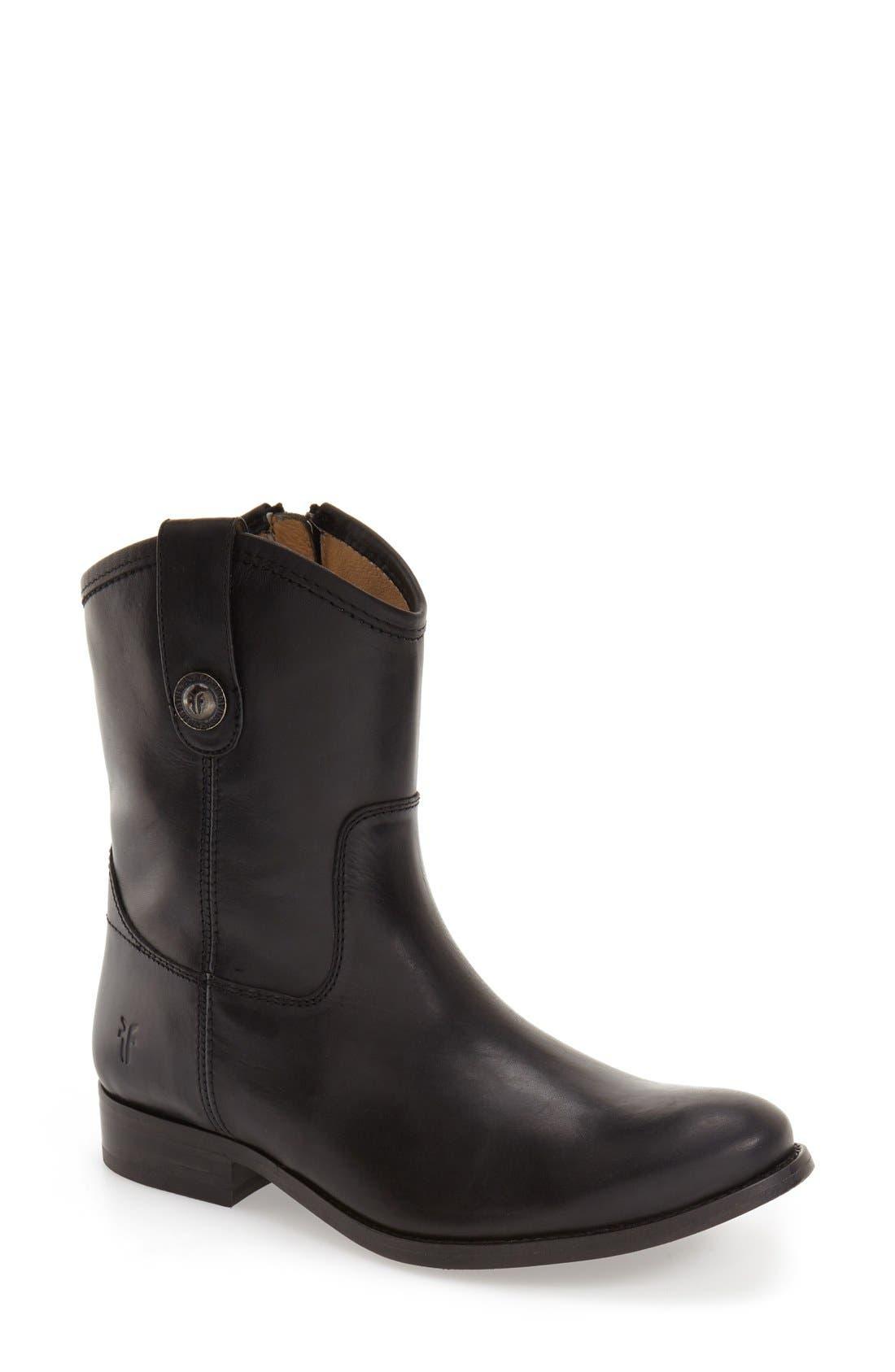 Frye 'Melissa Button' Short Boot (Women)