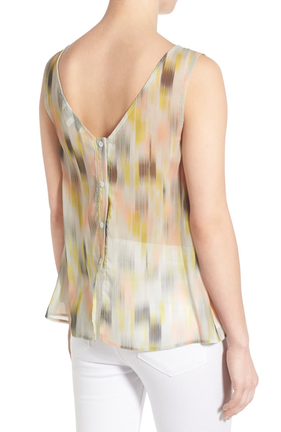 Alternate Image 2  - cupcakes and cashmere 'Enigma' Chiffon Tank