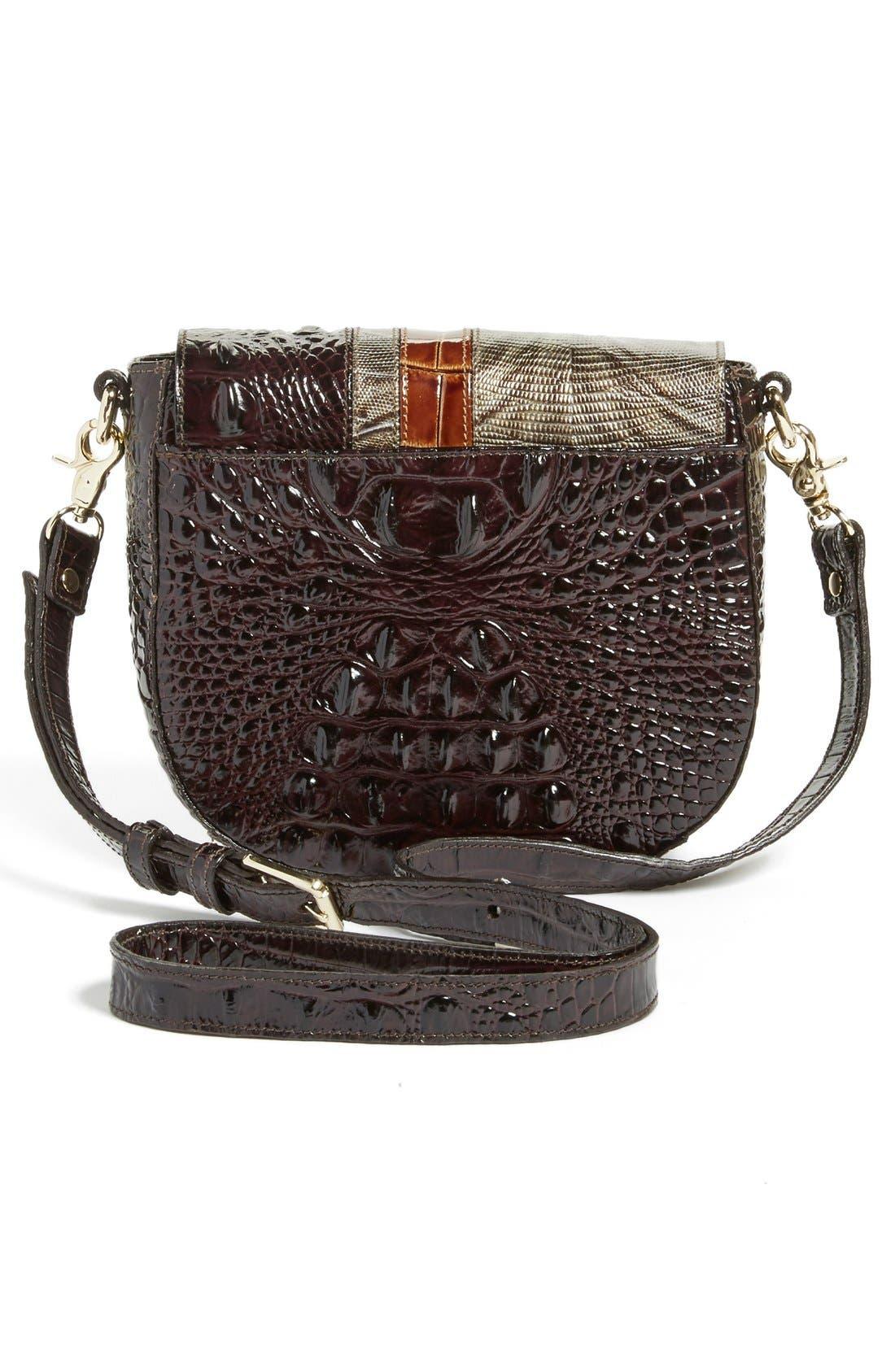 Alternate Image 3  - Brahmin 'Tillie' Embossed Leather Crossbody Bag (Nordstrom Exclusive)
