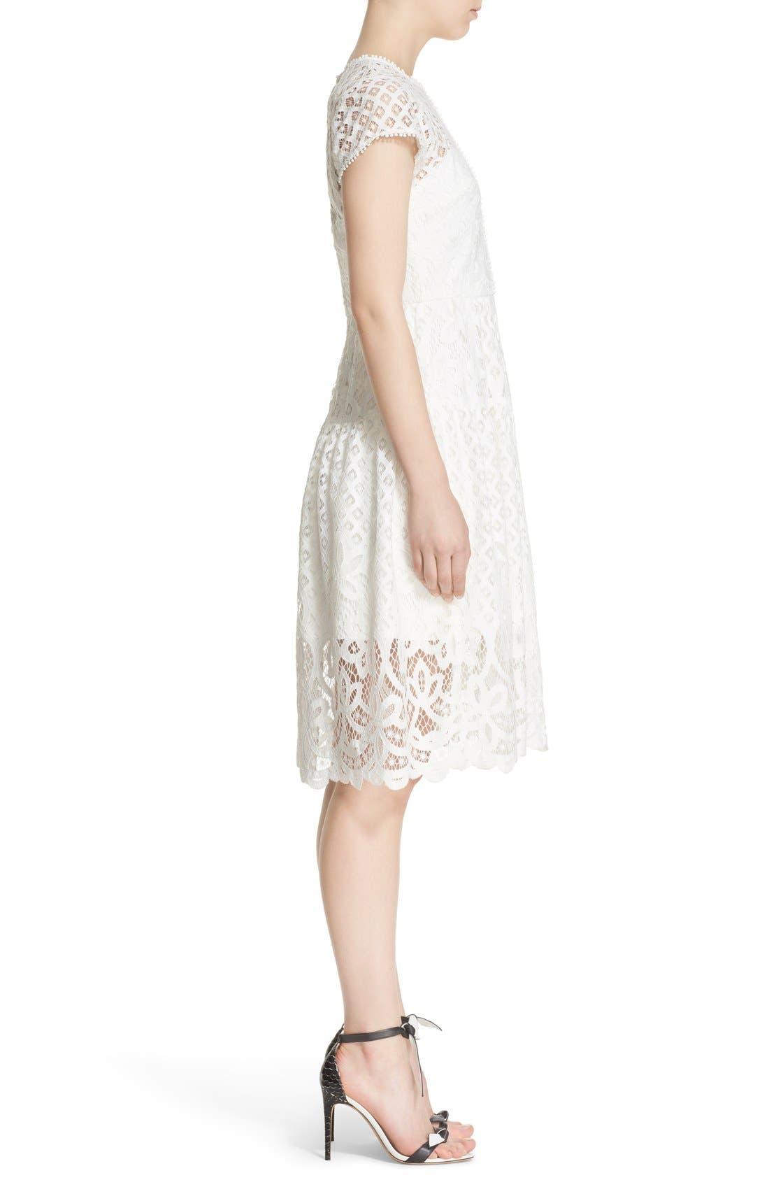 Alternate Image 3  - Parker 'Talulah' Lace Fit & Flare Dress