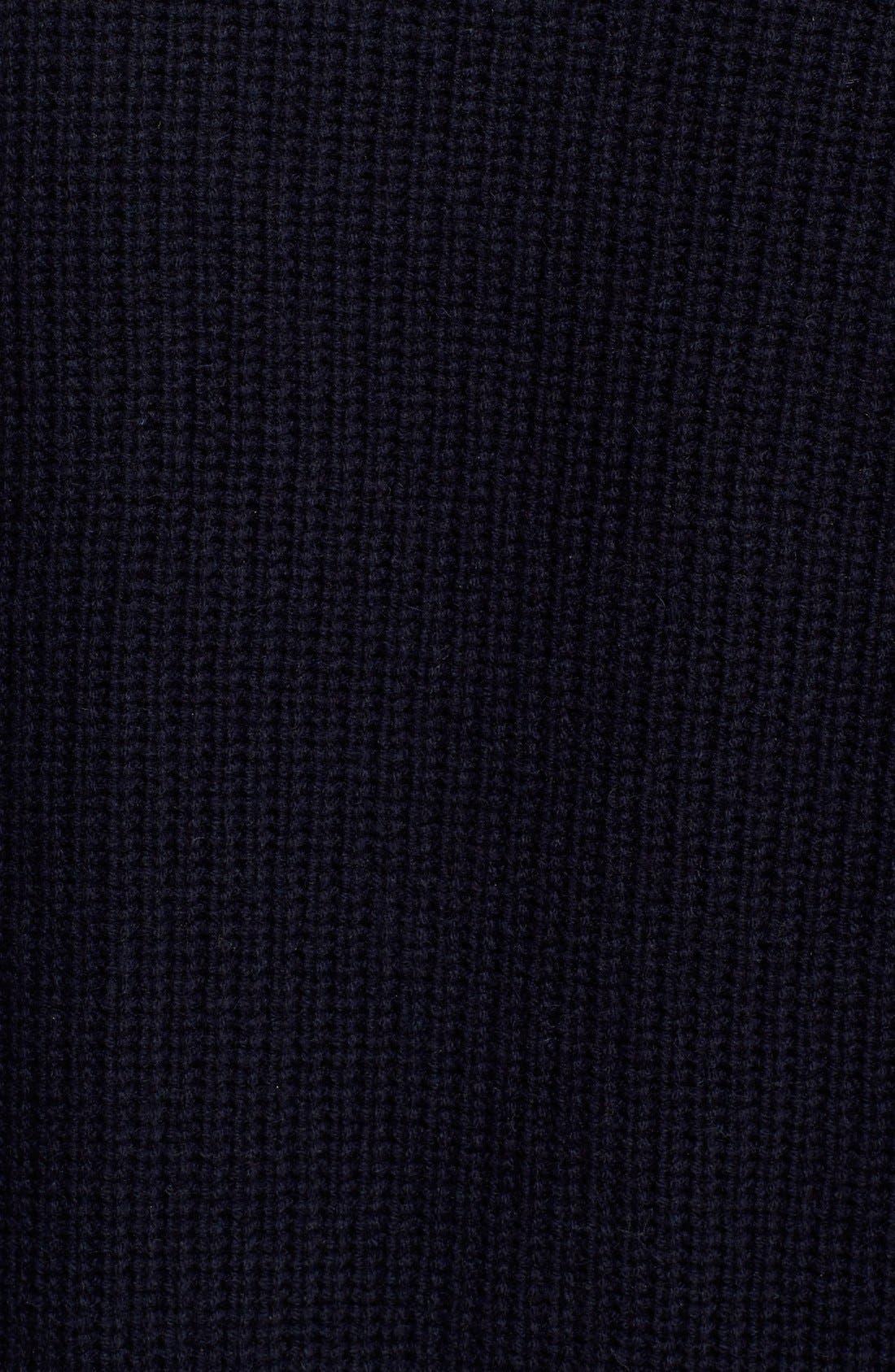 Alternate Image 5  - Vince Directional Rib Wool & Cashmere Cardigan