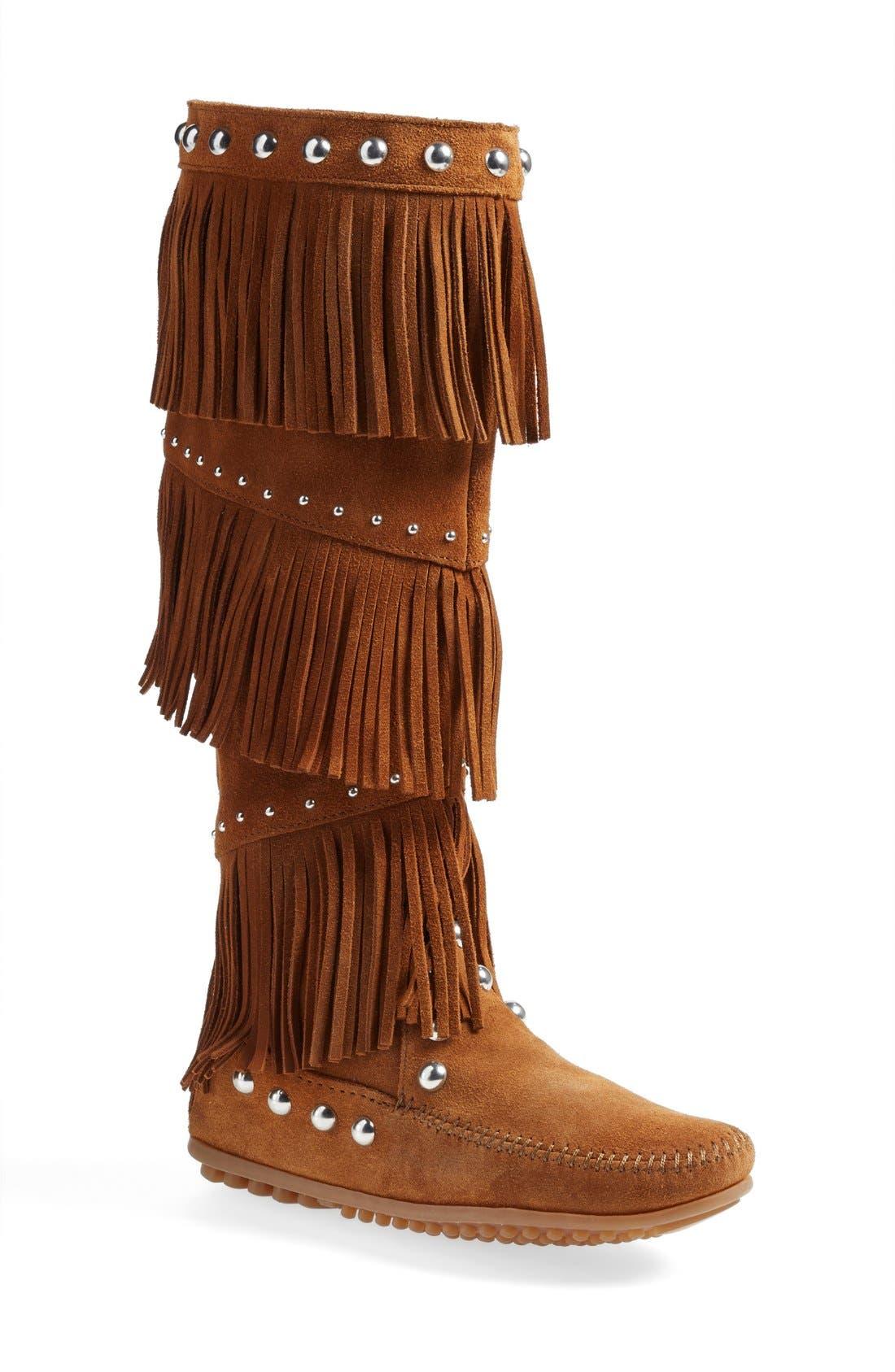 Rebecca MinkoffxMinnetonka Fringe Boot (Women)