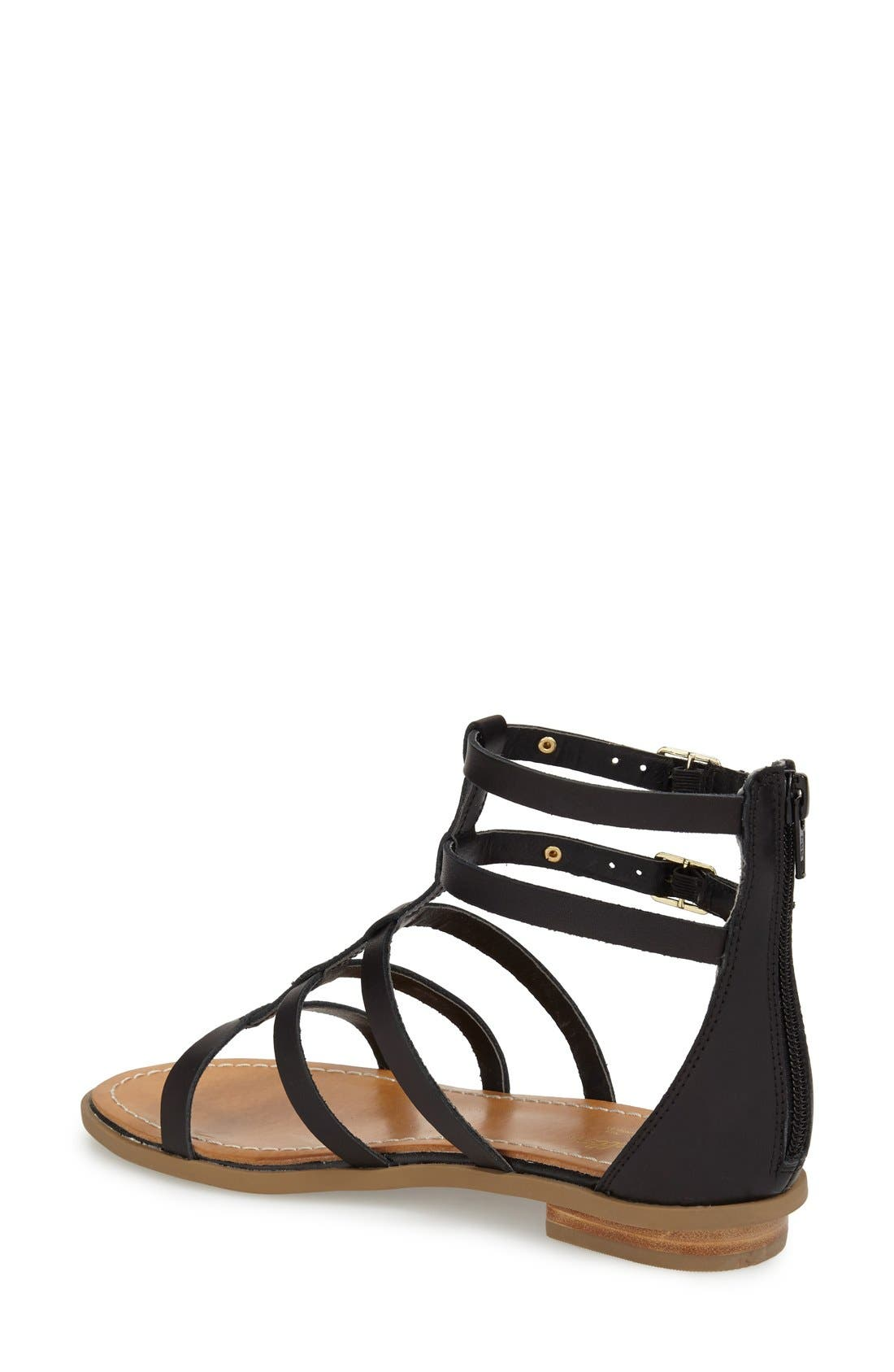 Alternate Image 2  - Seychelles 'Peachy' Gladiator Flat Sandal (Women)