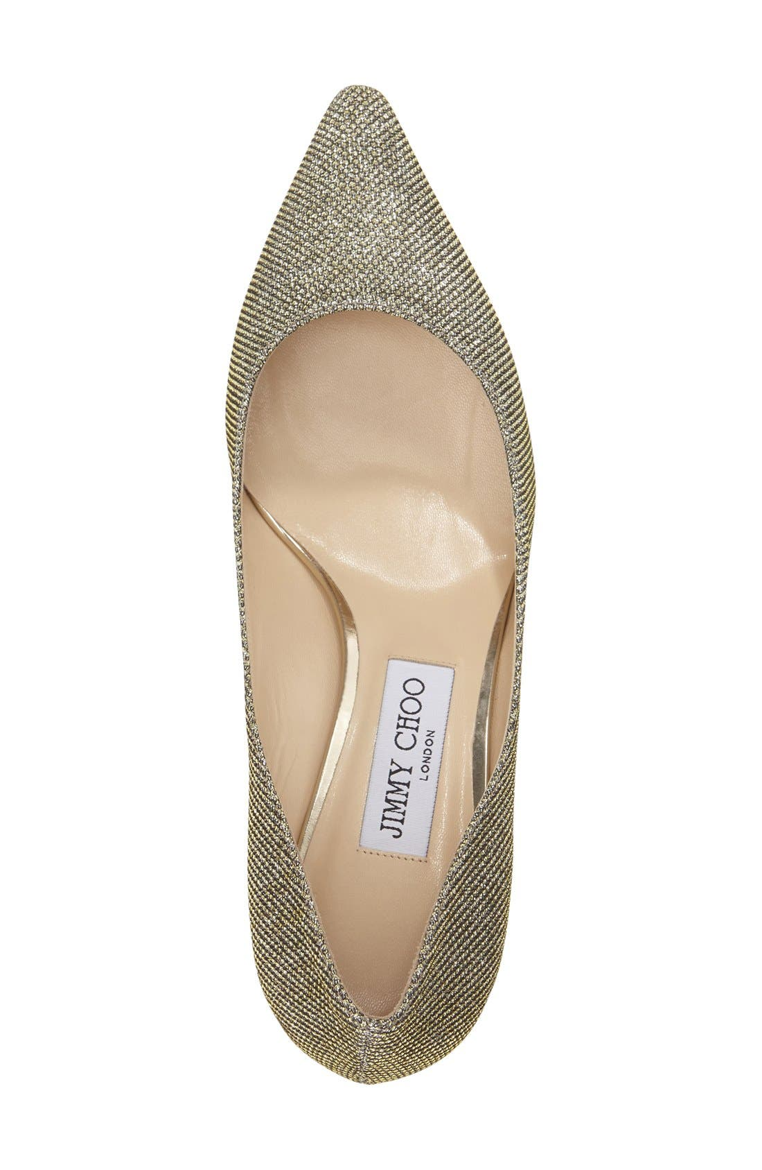 Alternate Image 3  - Jimmy Choo 'Romy' Pointy Toe Pump (Women)