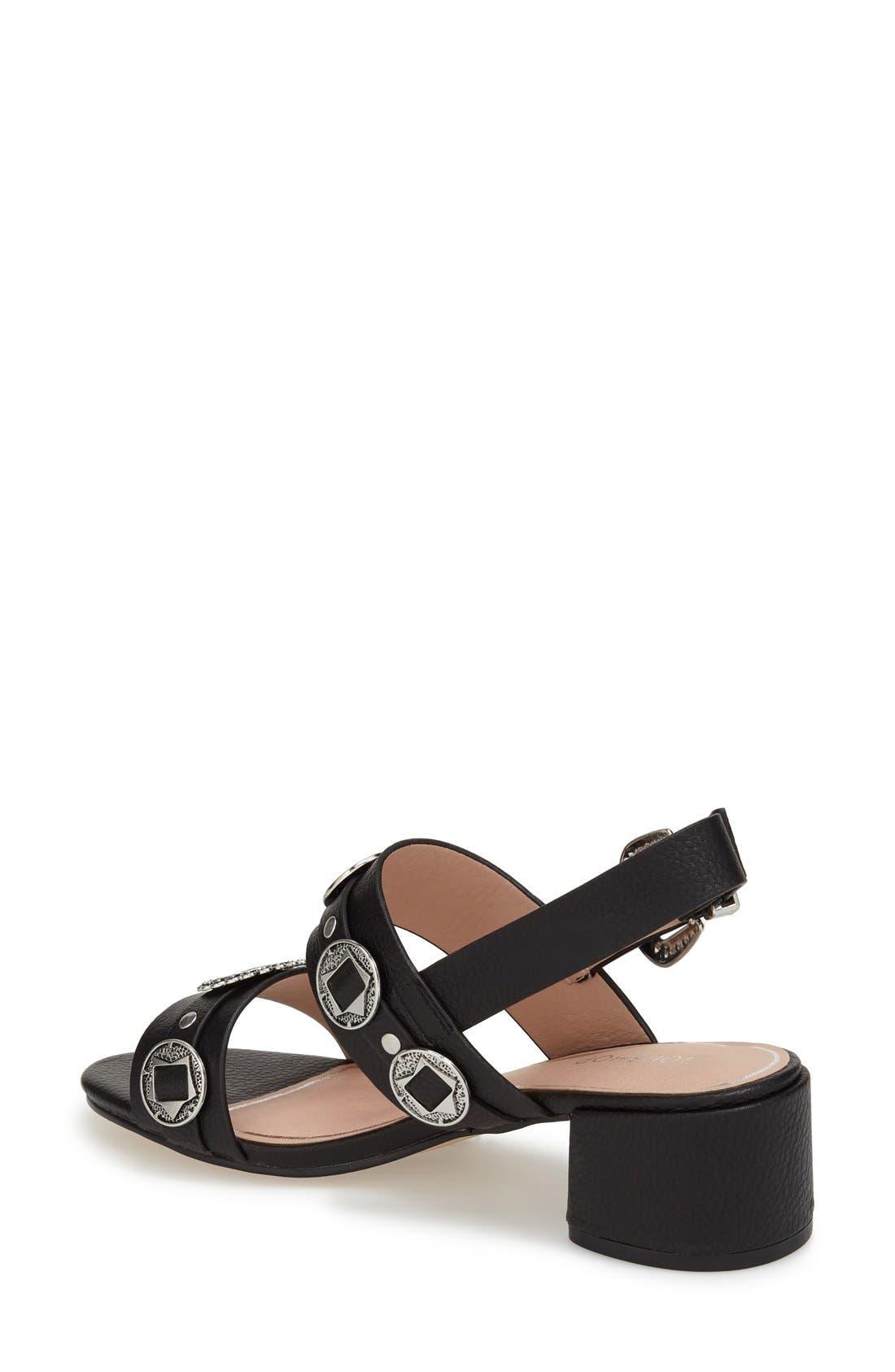 Alternate Image 3  - Topshop 'Dandy' Block Heel Sandal (Women)