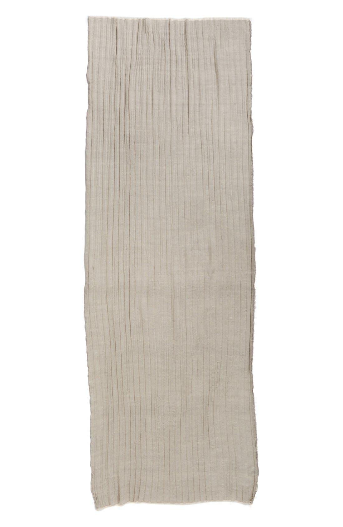 Alternate Image 2  - Caslon® Textured Wool Wrap Scarf