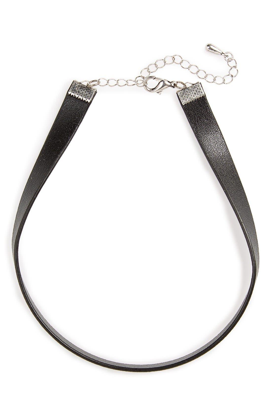 Alternate Image 4  - BP. Faux Leather Choker
