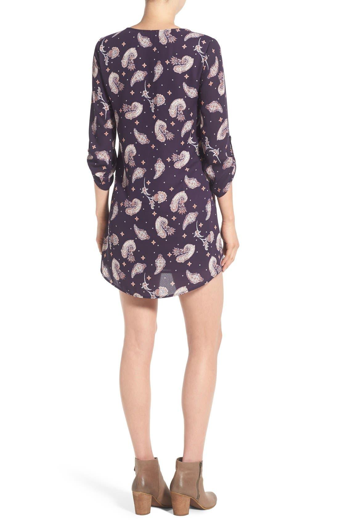 Alternate Image 2  - Lush 'Karly' Shift Dress