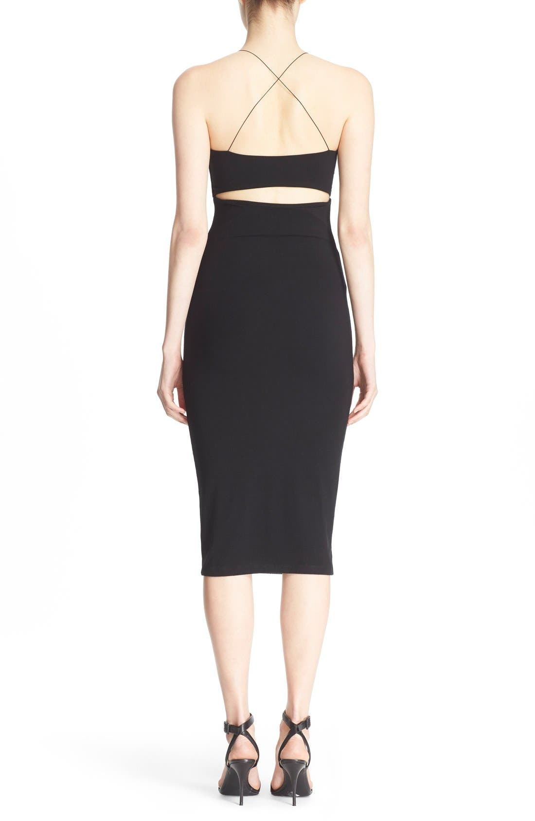 Alternate Image 2  - T by Alexander Wang Camisole Body-Con Dress