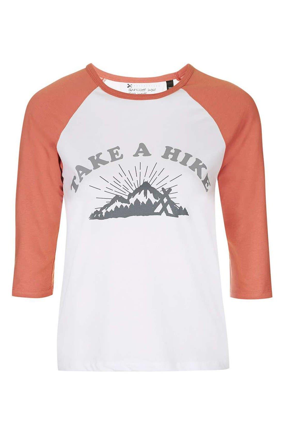 Alternate Image 4  - Topshop by Tea & Cake 'Take a Hike' Baseball Tee