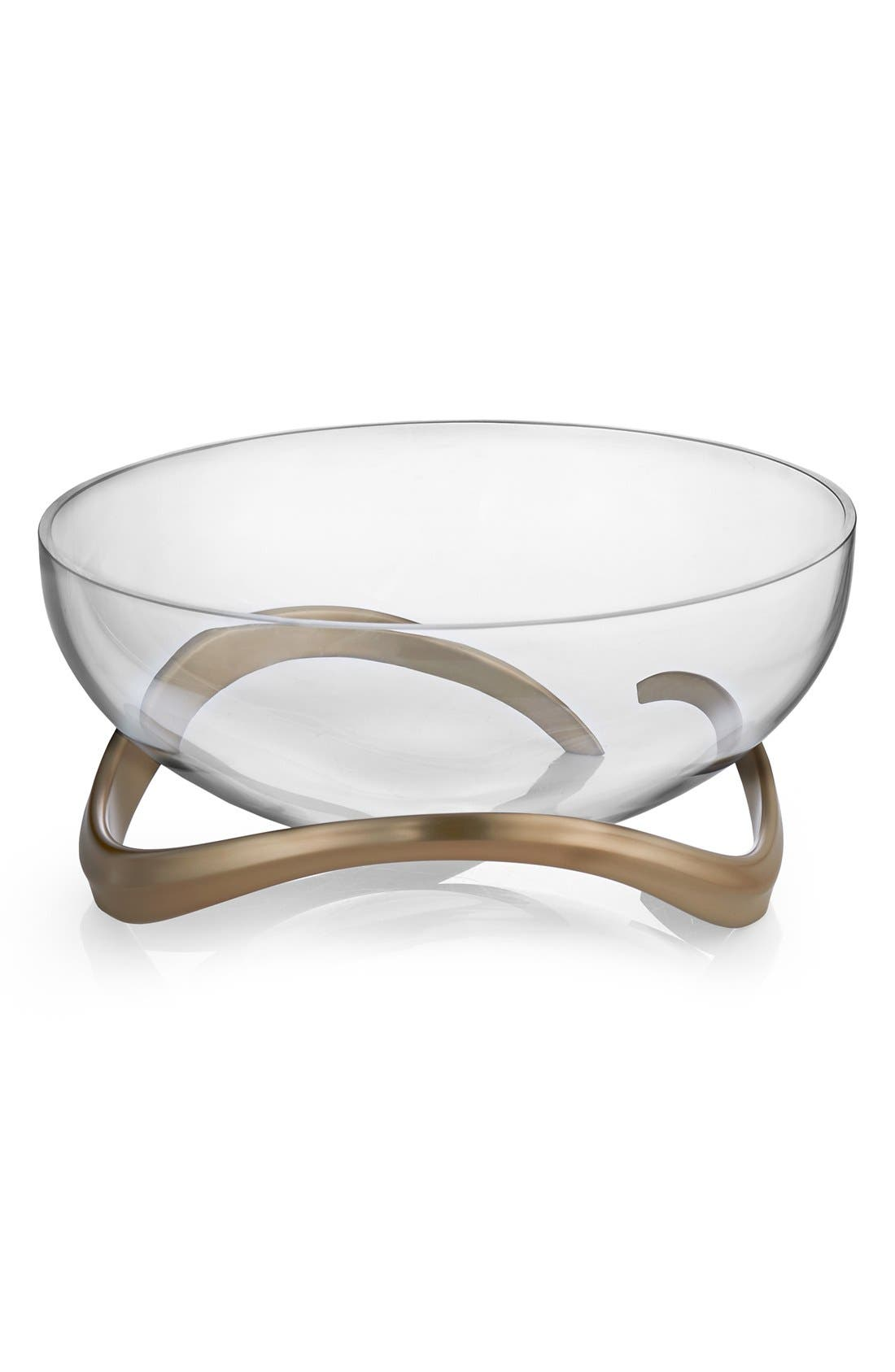 NAMBÉ 'Eco Collection' Glass Centerpiece Bowl