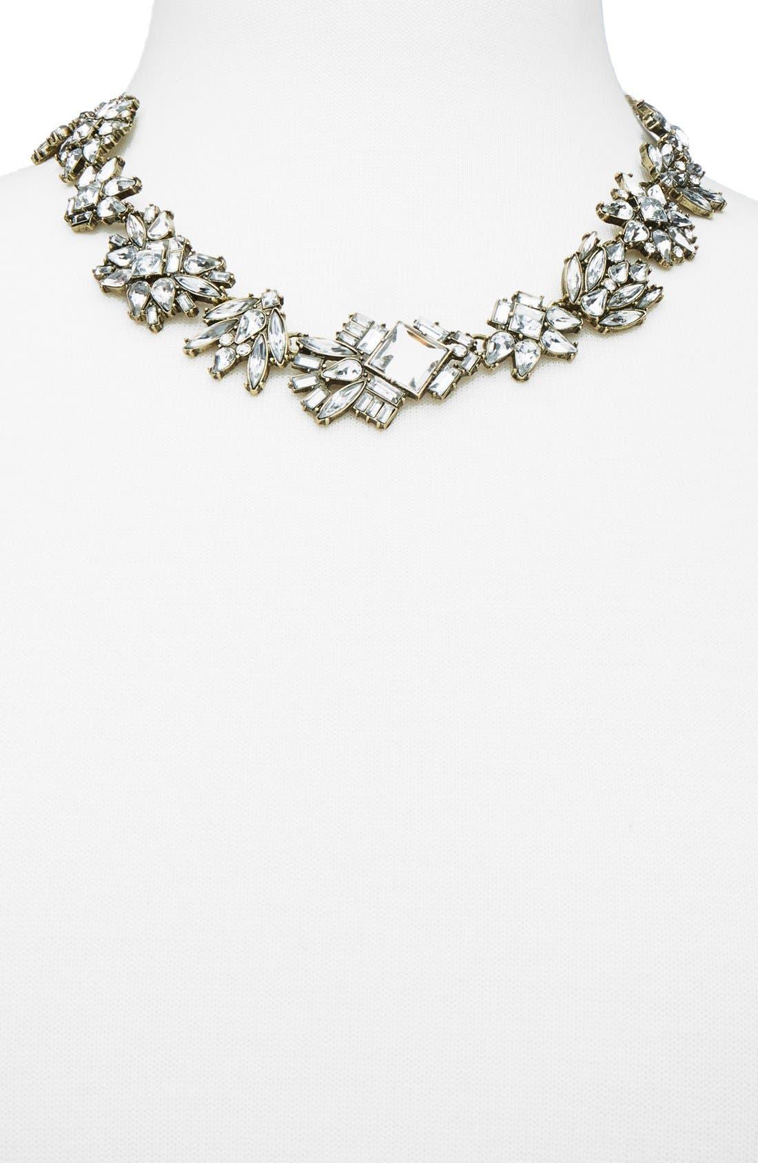 Alternate Image 2  - BaubleBar 'Helsinki' Crystal Collar Necklace