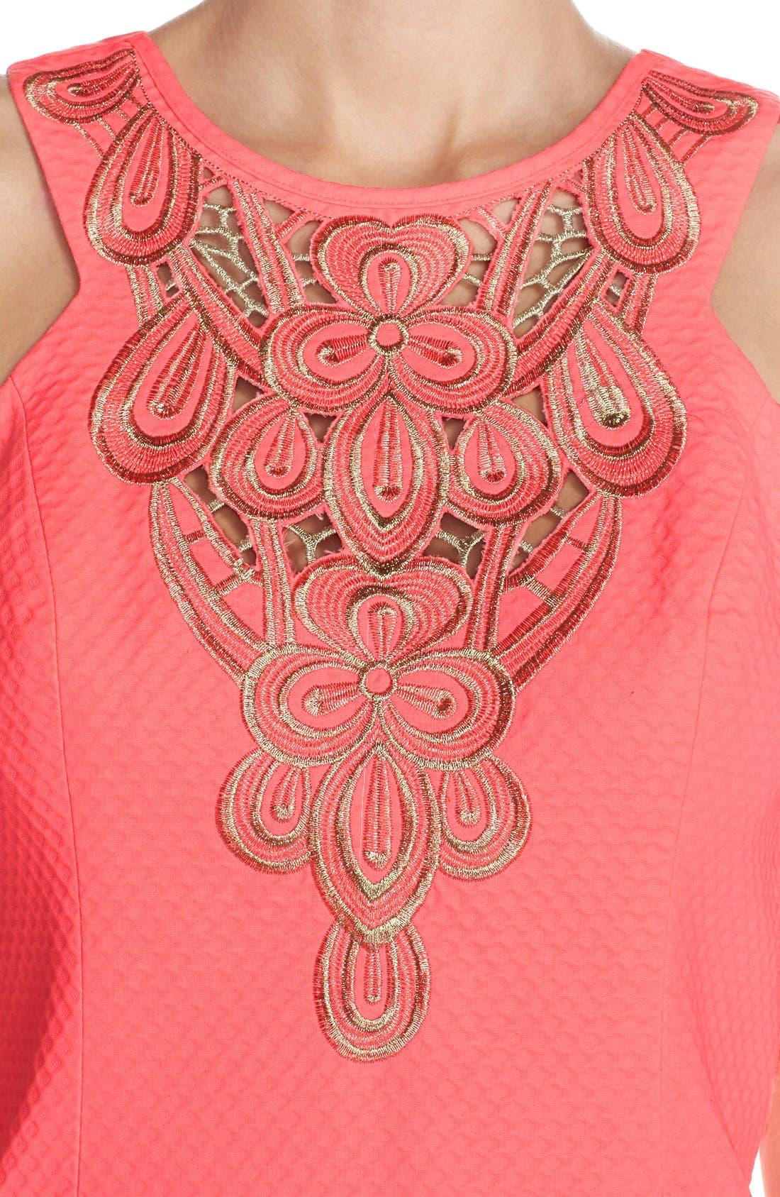 Alternate Image 5  - Lilly Pulitzer® 'Largo' Cotton Piqué Sheath Dress