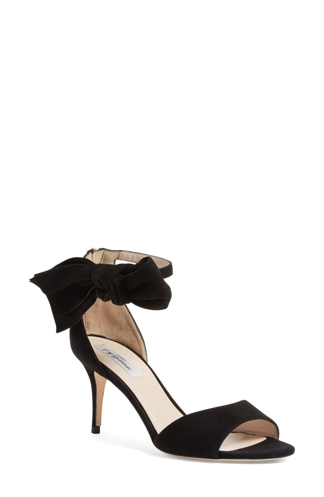 L.K. Bennett 'Agata' Ankle Strap Sandal (Women)